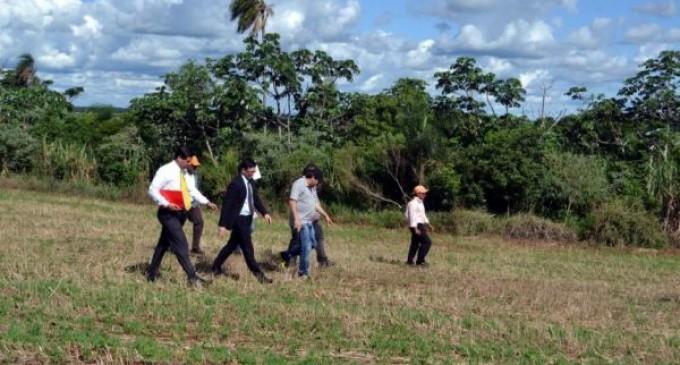 Indert ratifica recuperación de tierras en Caazapá