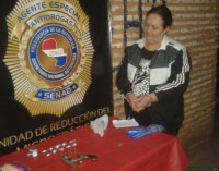Sorprenden a presunta microtraficante con varias dosis de cocaína