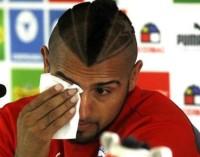 Arturo Vidal, entre lágrimas, pide disculpas