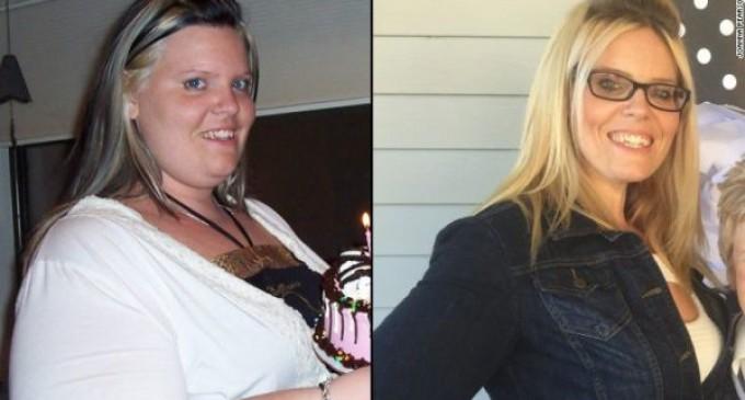 Perdió casi 85 kilos cuando vio que no podía abrocharse el cinturón de seguridad en un avión