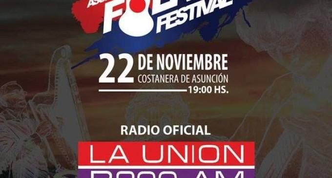 Asunción Folk Festival será mañana en la costanera