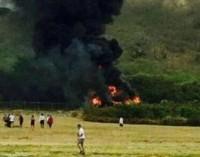 Un muerto y 21 heridos en un accidente aéreo en Hawaii