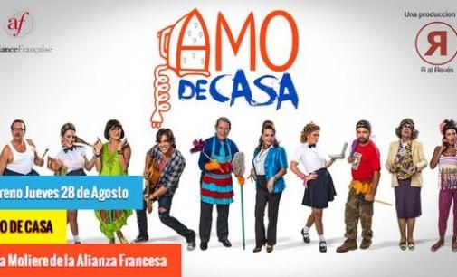 Teatro: Amo de casa se estrena el próximo 28 de agosto