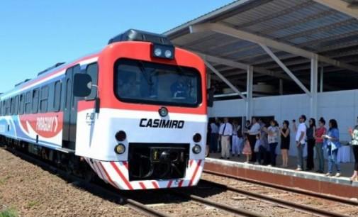 Hoy inicia primer viaje del tren Encarnación-Posadas