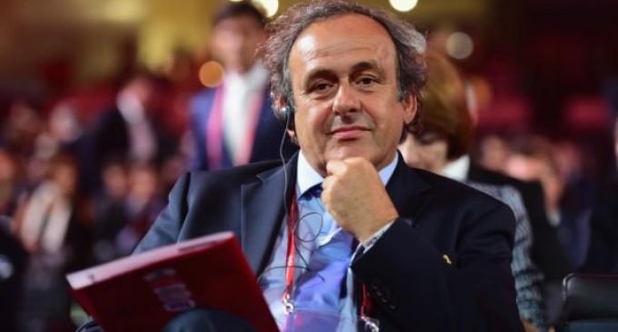 Michel Platini anuncia su candidatura a la presidencia de la FIFA