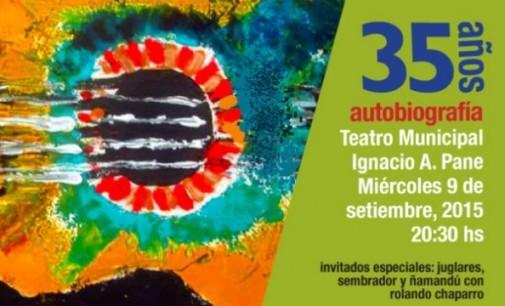 Show musical por los 35 años de carrera de Ricardo Flecha