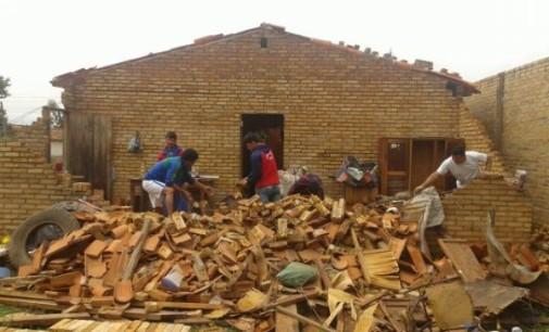 Tras fuerte temporal, reponen energía eléctrica en Tobatí