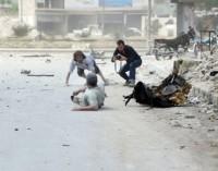 Al Assad arrojó barriles bomba sobre una estación de buses y provocó una masacre