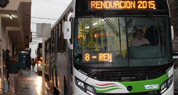 Atacan 9 ómnibus nuevos de la línea 51