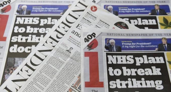 Fin de una era: el diario británico The Independent abandona el papel