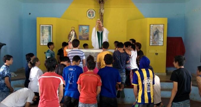 Bautizarán a jóvenes reclusos en Tuparendá