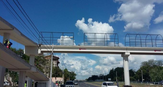 Habilitan paso para peatones en Autopista Ñu Guasu