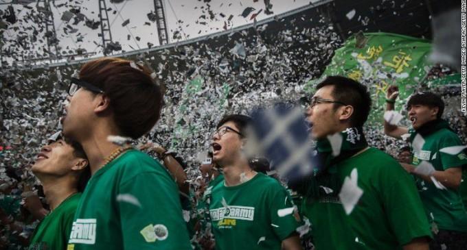 China sueña con dominar el mundo del fútbol
