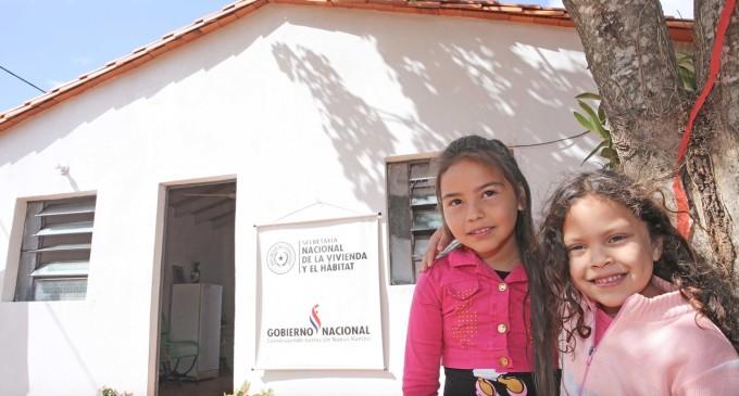 Senavitat entregará más de 100 viviendas en Caazapá