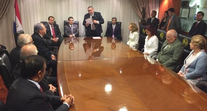 Alicia Pucheta toma juramento como nueva titular de la Corte