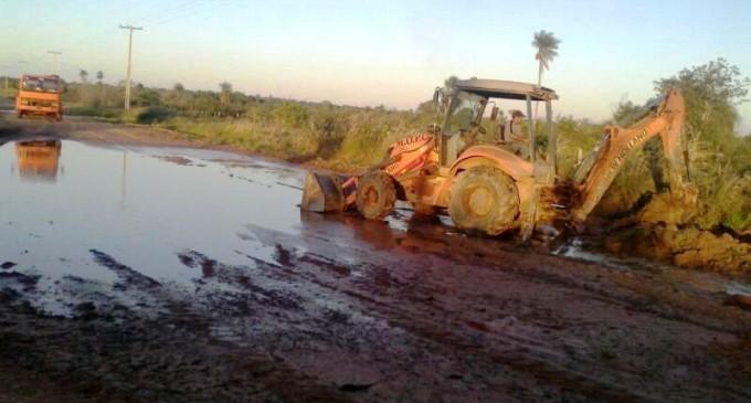 MOPC se apresta para reparar 10.000 km de caminos en todo el país