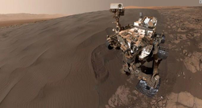 LA NASA te lleva a recorrer la superficie de Marte con un video en 360º