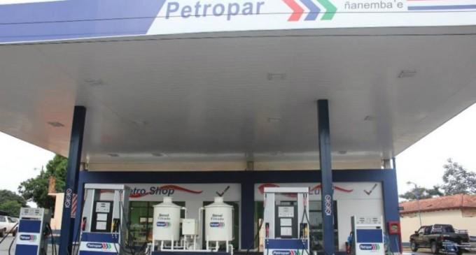Petropar anuncia baja en todos los combustibles