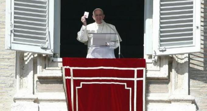 El papa Francisco pidió la abolición mundial de la pena de muerte