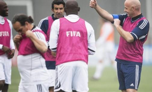 Primera jornada de Infantino como presidente de la FIFA