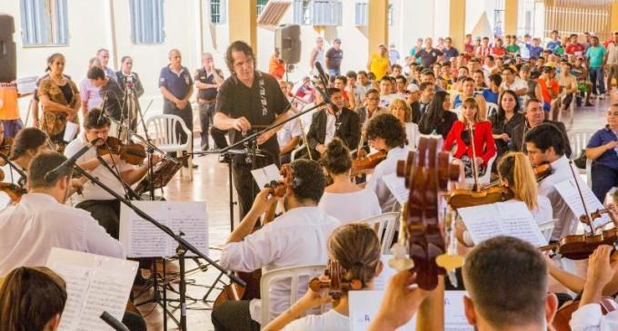 Música en Tacumbú: Iniciativa acerca el arte musical a públicos en situación especial
