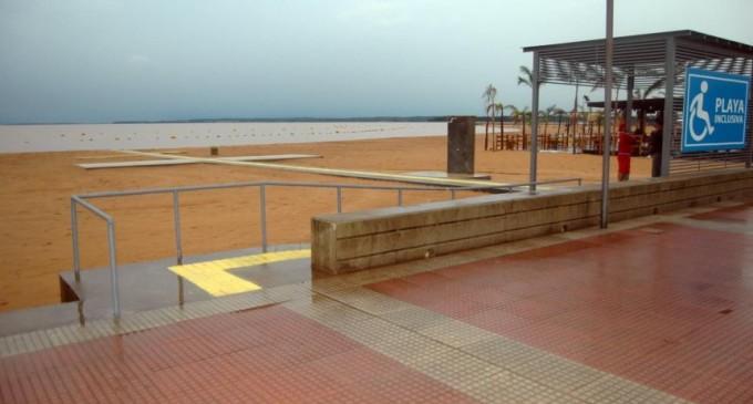 Habilitan playas inclusivas en Encarnación