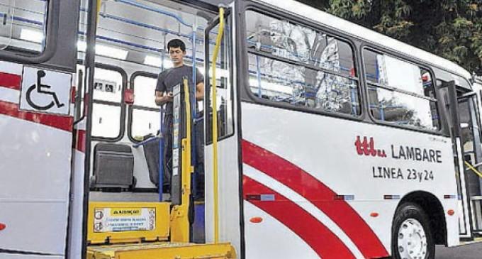 Buses deberán contar con rampas para personas con discapacidad desde junio.