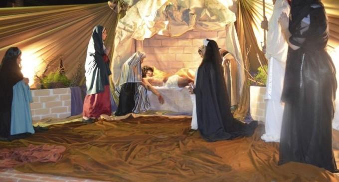 """Viacrucis en Luque: """"Una mezcla entre el arte y la religión"""""""