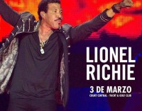 Esta noche se presenta Lionel Richie en Paraguay