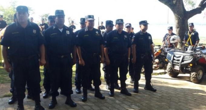Alerta máxima para el personal policial por movilización en Asunción