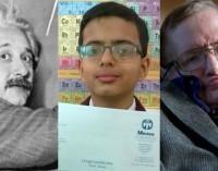 Niño prodigio de 11 años supera el coeficiente intelectual de Einstein y Stephen