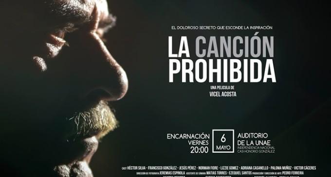 "Proyectarán ""La Canción Prohibida"" en Encarnación"