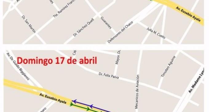 ESSAP cerrará parte de la Avenida Eusebio Ayala durante el fin de semana