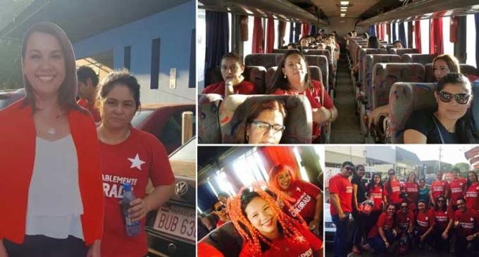 Funcionarios de Itaipú abandonaron sus puestos para asistir al acto de proclamación de la ANR