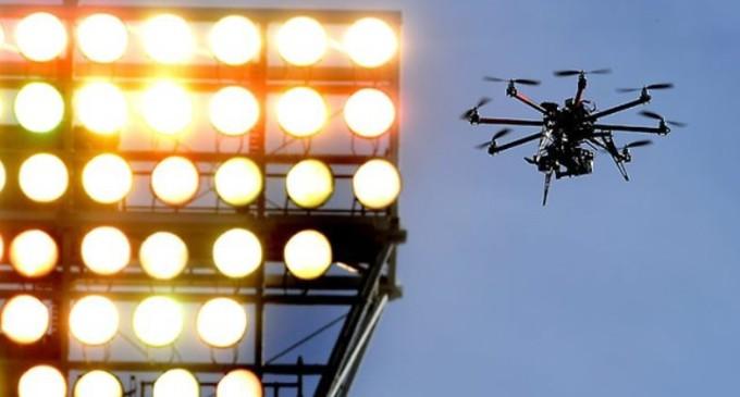 APF recuerda que no está permitido el uso de drones durante el clásico