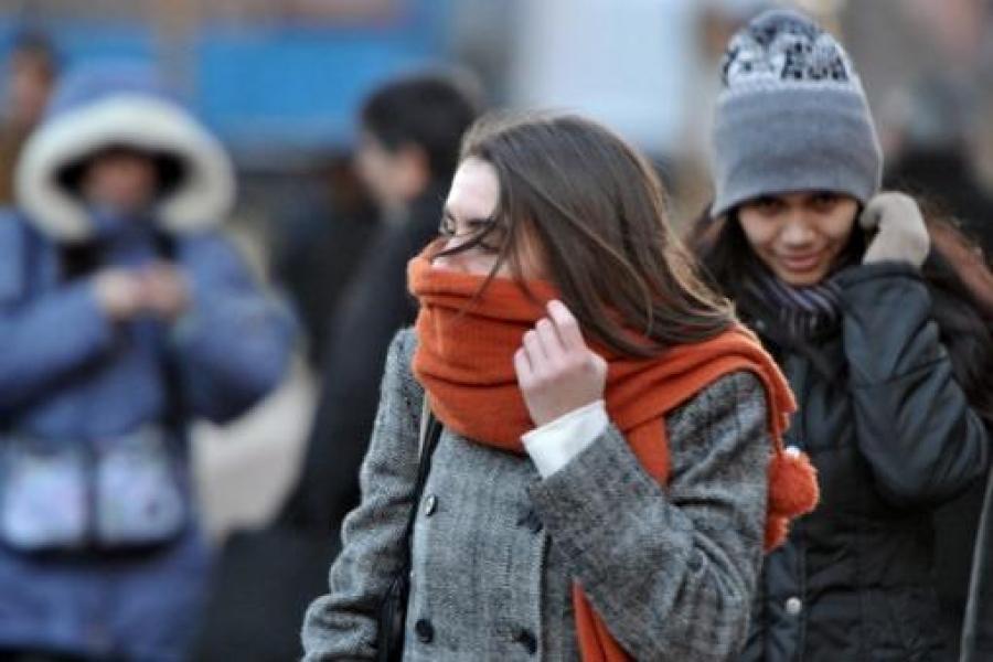Frío extremo: mínima de 0° C