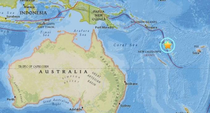 Tras sismo de magnitud 7,0 en Vanuatu hay nueva alerta en el Pacífico