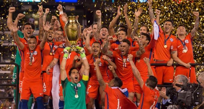 Chile Campeón de la Copa América Centenario