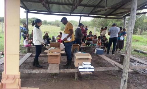 Concepción recibió leche fortificada para niños y embarazadas