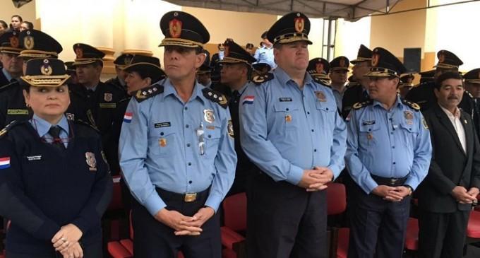 Policías participaron en corrida 5K