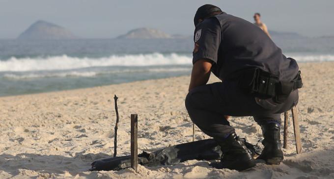 Encuentran restos de un cuerpo humano en playa Olímpica