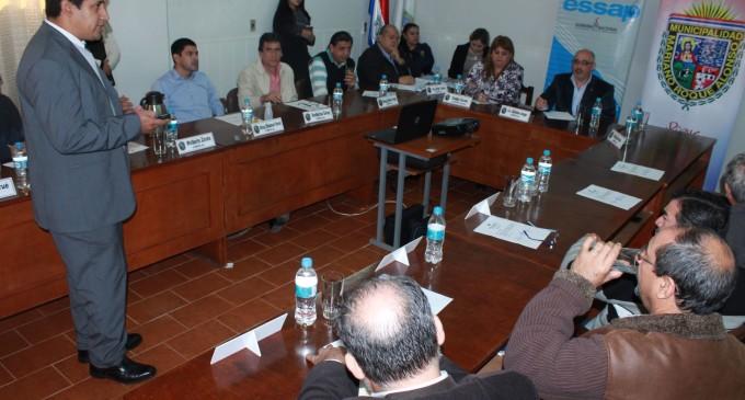 ESSAP presentó multimillonario proyecto a la ciudad de Mariano Roque Alonso