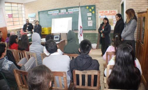 Fiscalía brindó charla a estudiantes sobre los sinsabores del microtráfico y las redes sociales
