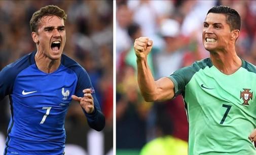Portugal y Francia por el título de la Euro