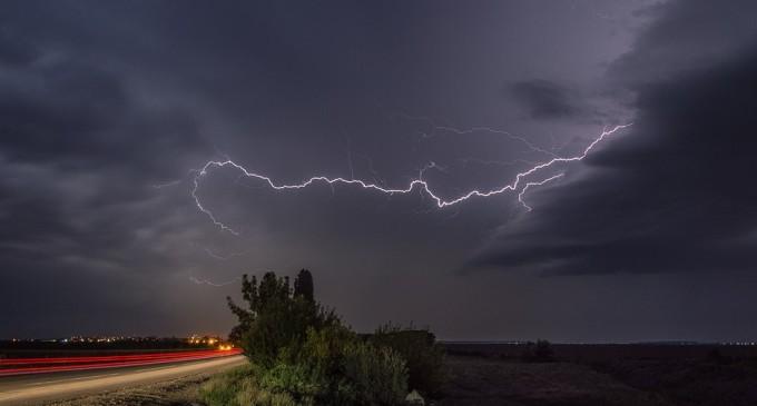 Alerta meteorológica para el sur del país