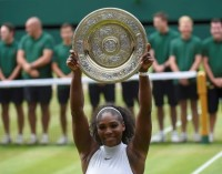 Serena Williams gana el título de Wimbledon e iguala récord de Steffi Graf
