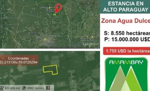 Ordenan investigación sobre presuntas ventas ilegales de tierras del Estado paraguayo