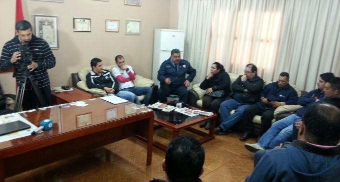Periodistas del Alto Paraná  piden mayor protección de la policía nacional en coberturas