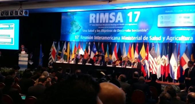 35 países participan de la 17a. Reunión Interamericana  Ministerial de Salud y Agricultura