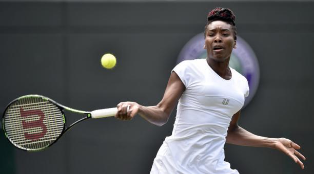 Venus Williams vuelve a las semifinales de Wimbledon
